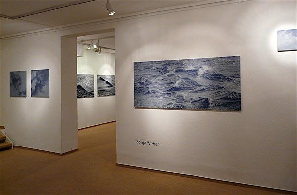 Sonja Weber Ausstellung in der Galerie Magnus P. Gerdsen